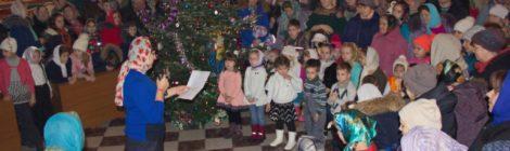 Рождество в Знаменском храме